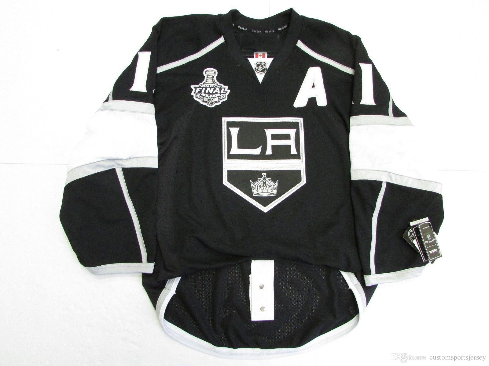 Cheap Custom Anze Kopitar LOS ANGELES KINGS HOME 2012 STANLEY CUP JERSEY  Stitch Add Any Number Any Name Mens Hockey Jersey XS 5XL UK 2019 From ... 37a4fe861