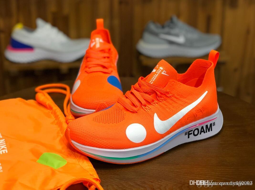 686e307f258f 2018 Hot Sale Orange Zoom Fly Mercurial Men Women Running Sneakers Black  Shoes Size 36 45 Shoes Online Basketball Shoes From Xumissnike