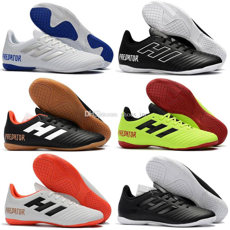 9be27b1597c 2018 indoor turf soccer shoes Predator Tango 18 zapatos hombre 18.4 IN TF  football boots mens low soccer cleats new arrival Size 39-46