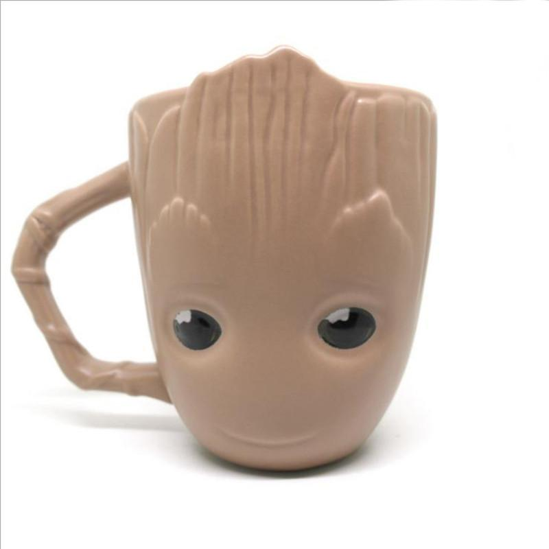 Baby Groot Creative Guardians Of The Galaxy Coffee Groot Mugs ...