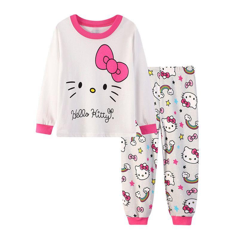 f3d6361648 2 7 Years Old Girls Kid Pajama Winter 2019 Children S Pajamas Sets Home  Leisure Girl Cartoon Cute Cotton Longsleeve Pyjamas HYL9 Pajamas For Kids  Girls ...