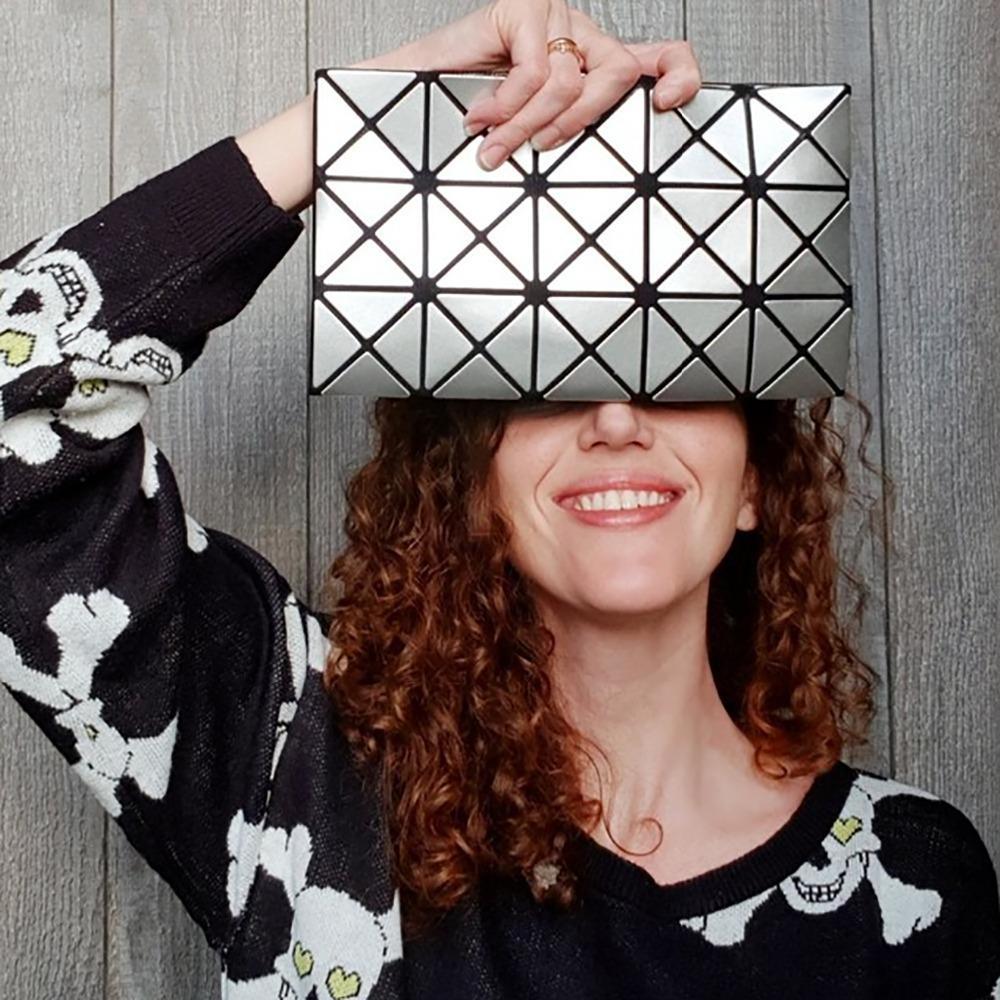 Borse a tracolla pieghevoli con solidi diamanti MUSAA la moda donna Borsa multiuso in pelle PU multiuso Nuova collezione MS1039