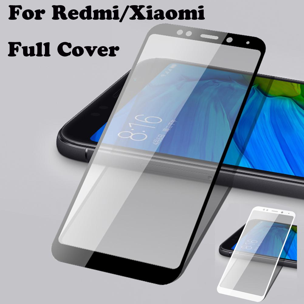 Top Film Full Cover Tempered Glass Screen Protector For Xiaomi Redmi Color Note 4 Mediatek Hongmi Red Mi S2 5 5a Plus A2 A1 4x Pro No Bubble Phone