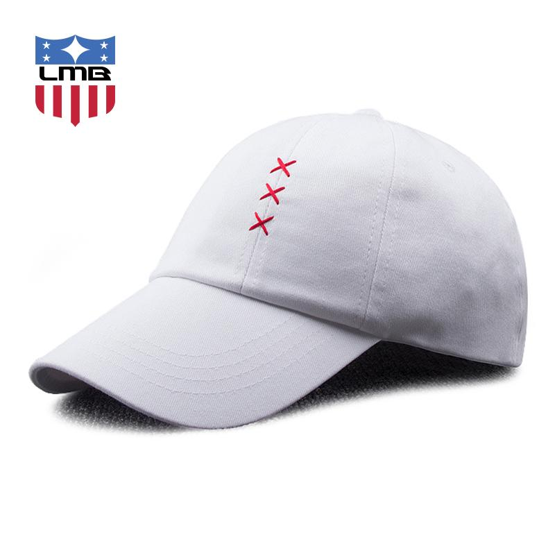 3f14cead210 LMB Geometric Pattern Sewing Unisex Cotton Men Hats For Women Baseball Caps  Snapback Summer Outdoor Adjustable Female Casual Cap Men Hats Zephyr Hats  From ...