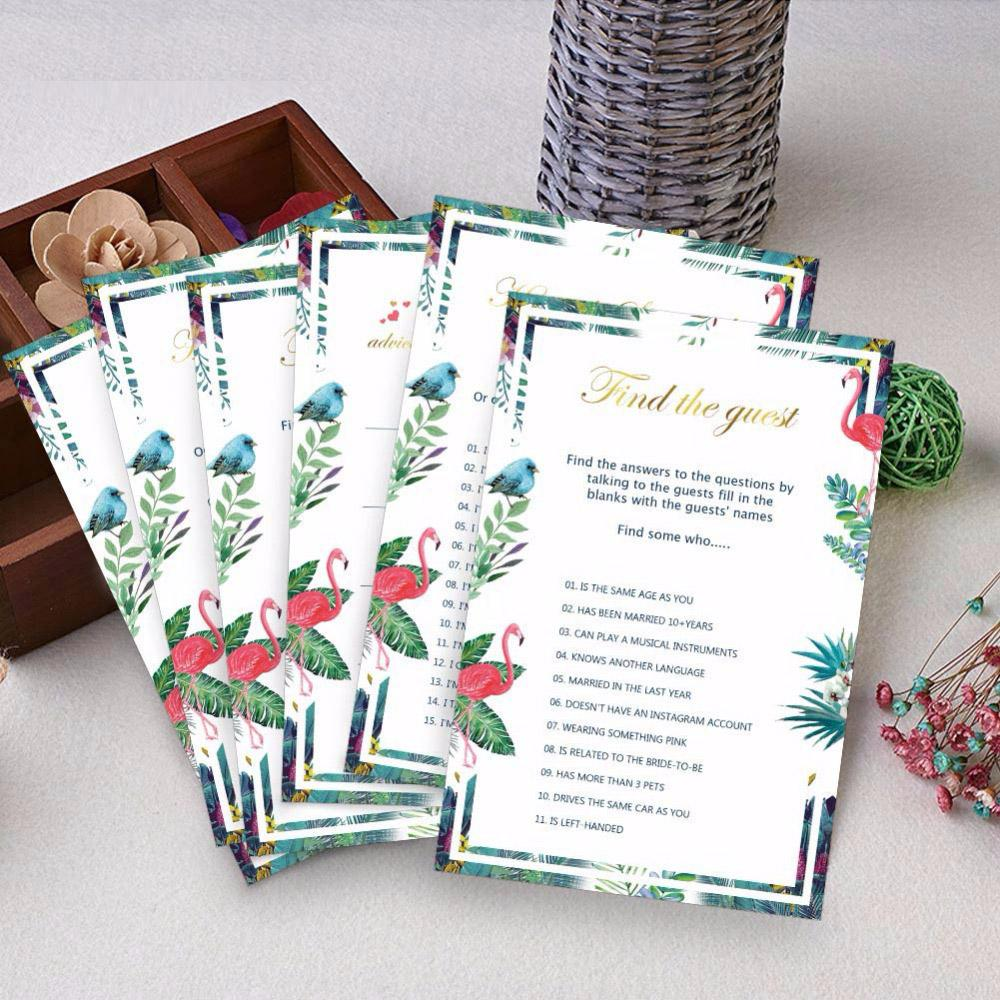 3Types Wedding Invitations Cards Bridal Shower Decoration