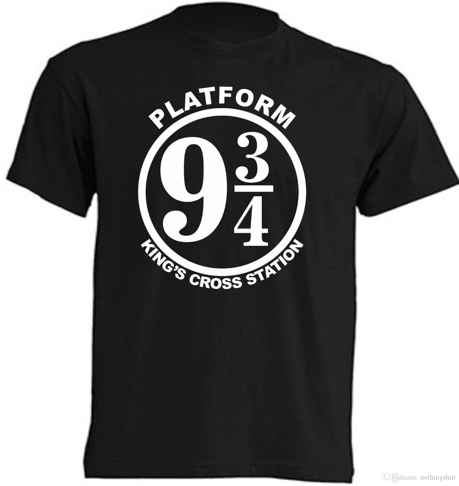 9532f86d6 CAMISETA ANDEN 9 3 4 HARRY POTTER NIÑOS Y ADULTOS Cool Tee Funny Graphic T  Shirts From Nothingshirt