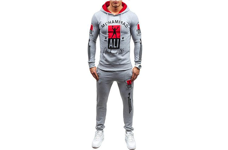 Mens Clothing Tracksuits Sports Hoodies Jogger Pants Hooded Letters Printed Pullovers Casual Long Trousers Clothing Sets Suits