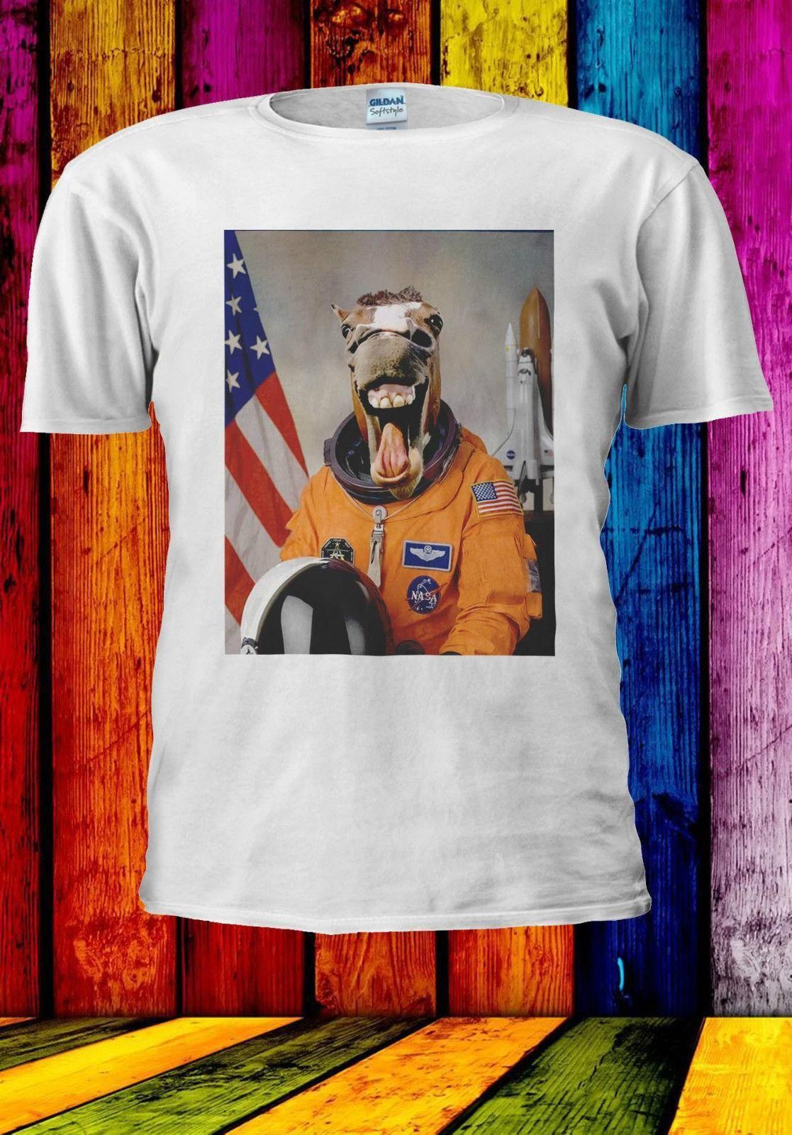 4c8541f6 Astronaut Funny Horse Laugh In Space T Shirt Vest Tank Top Men Women Unisex  538 Shop T Shirt Online Interesting T Shirt From Linnan00003, $14.67|  DHgate.Com