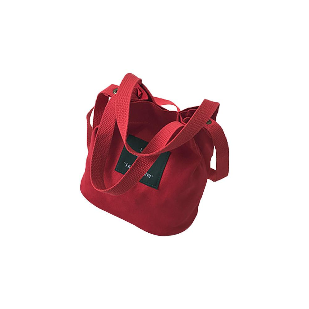 7ac8fbe091 2018 Canvas Shoulder Messenger Bag Student Art Joker Women Shoulder ...