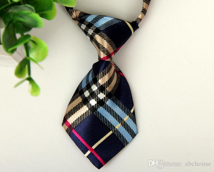Mode Polyester Seide Haustier Hund Krawatte Einstellbar Hübsch Haustier Fliege Haustier Krawatten Hunde Krawatten Pflegebedarf Kinder Junge Krawatte
