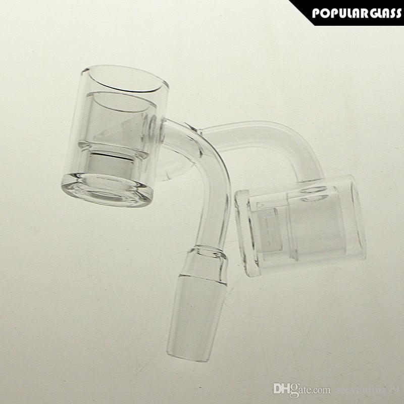 유리 PG5148에 대한 열 팻 프라이팬 손톱과 SAML 25mm의 두꺼운 바닥 석영 폭행 코어 리액터를 삽입 네일 폭행범