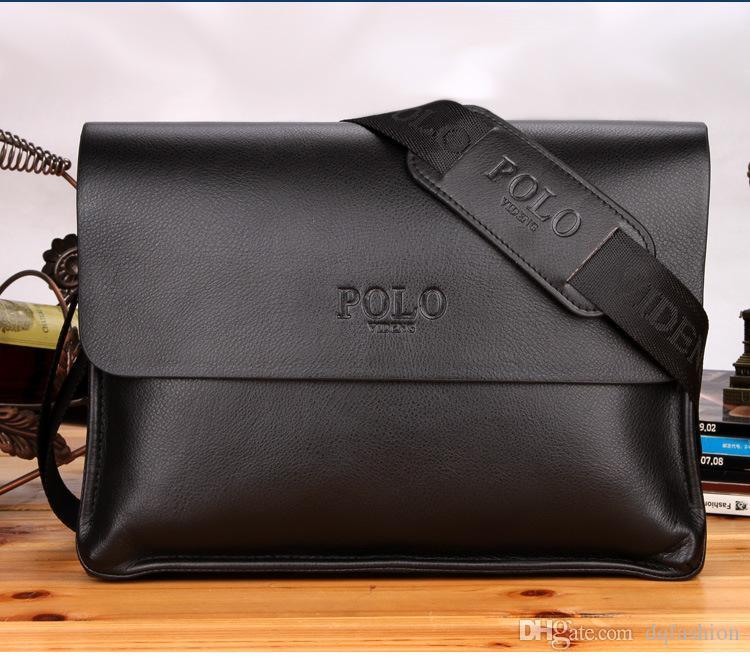 Wholesale-best Selling Leather Men Bag Briefcase Casual Business Leather  Mens Messenger Bag Vintage Men s Crossbody Bag for Men s Briefcases Leather  Men Bag ... 703710d765