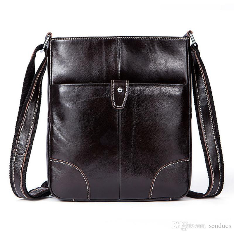 Genuine Leather Mens Bags Male Crossbody Bags Small Flap Casual Messenger Bag  Men s Shoulder Bag Genuine Leather Men Shoulder Bags Men Backpack Genuine  ... 5447c5676a1cd