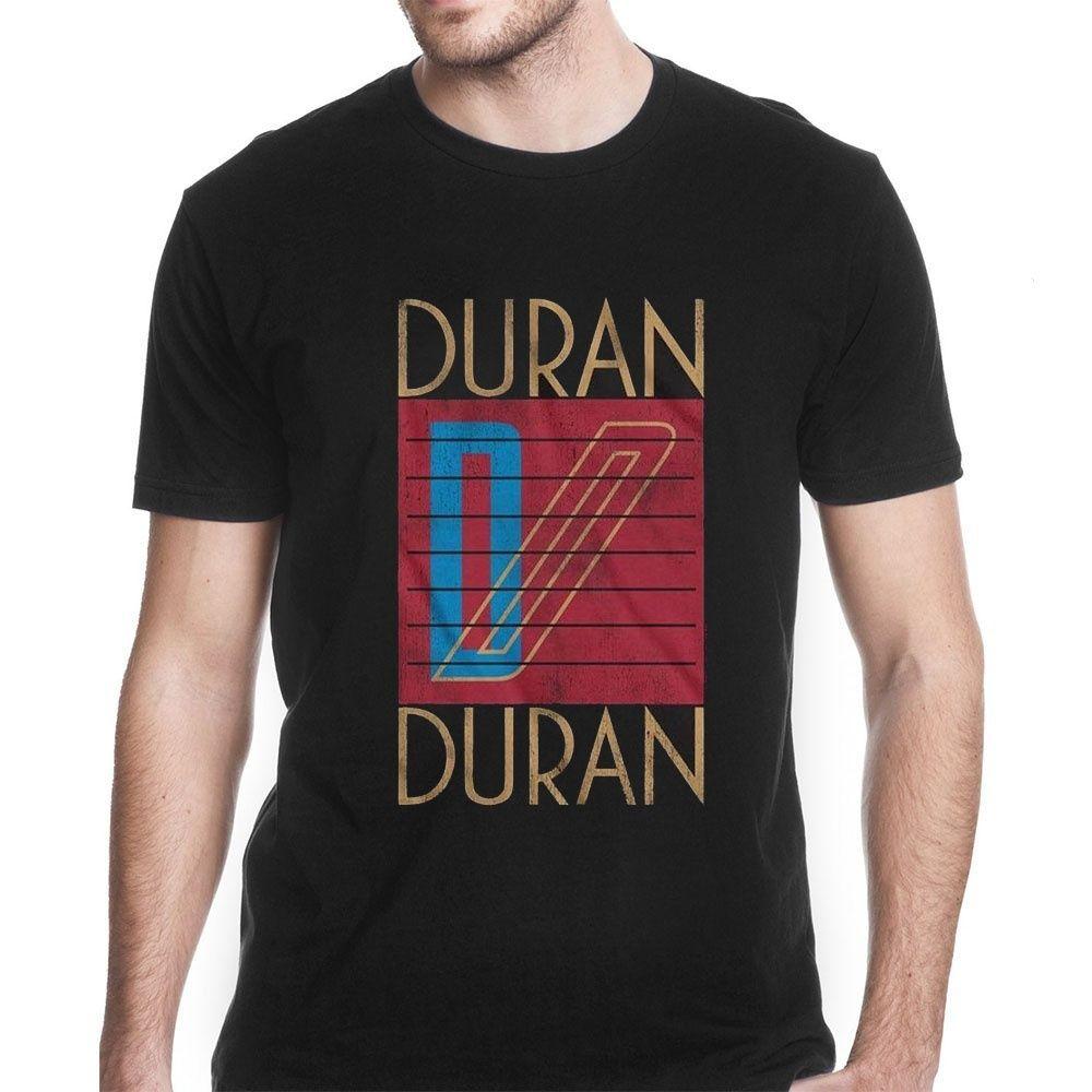 bff5ecf7456 Duran Duran Vintage Cool Design Short Sleeve Fashion Print Men Tshirt  Casual Cotton Tees 2018 New Mens T Shirts Novelty T Shirt Funny Printed T  Shirts From ...