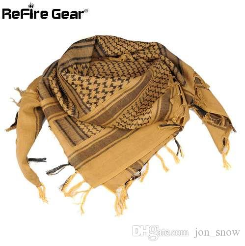 Arab Square Military Tactical Scarf Men Thicken US Soldier Army Combat  Scarves Keffiyeh Shawl Veil Paintball Arabic Scarf 110cm Neck Scarf Skull  Scarf From ... a1413f6a878