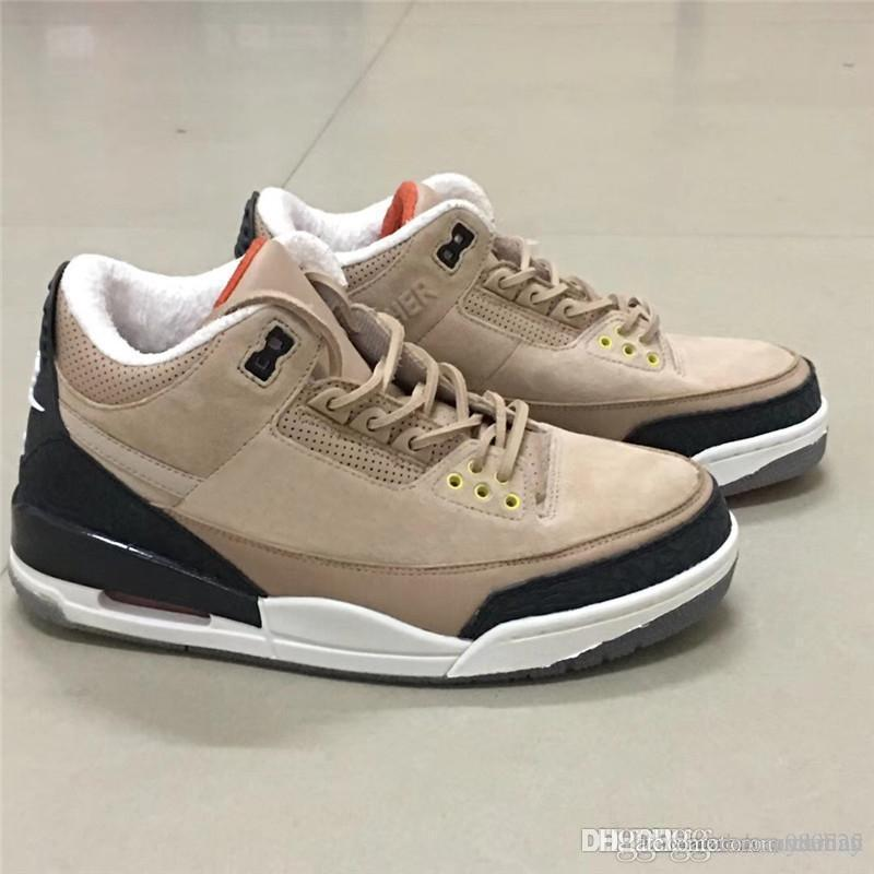 995c499832473c 2019 2018 JTH 3 Bio Beige 3s HIGHER Suede Basketball Shoes For Man Limited  Sports Sneakers With Box Authentic FAME IS A LIE STRESS IS CRUEL From ...