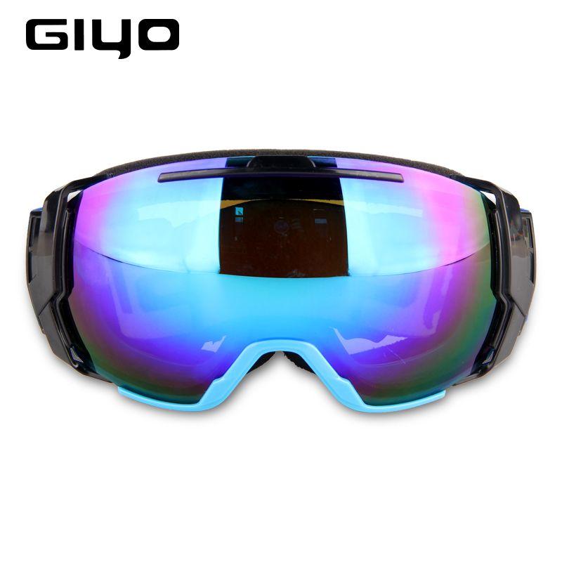 a24434d03036 GIYO Women Men Ski Snowboard Goggles UV 400 Anti-fog Over Glasses ...