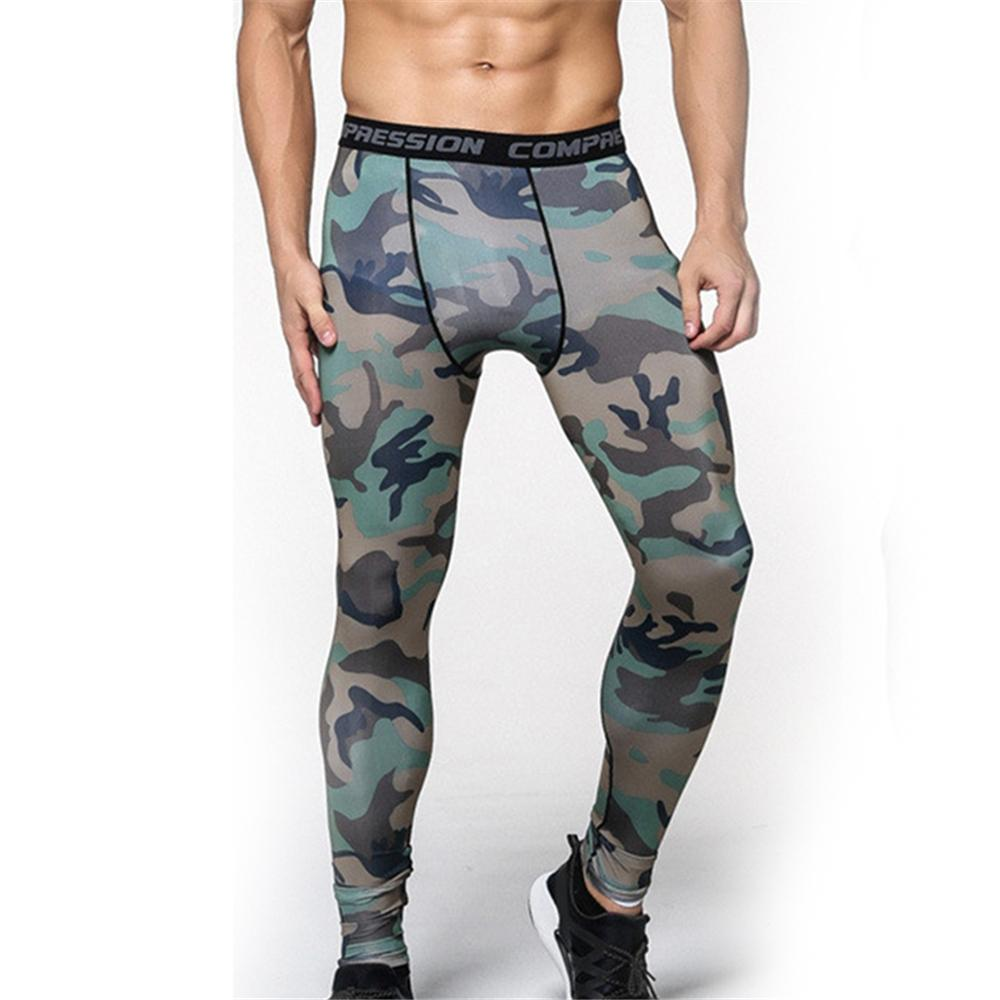 4903ce3d171 2019 Men Compression Pants 2017 New Crossfit Tights Man Bodybuilding Pants  Camouflage Running Tights Jogging Skinny Leggings From Simmer