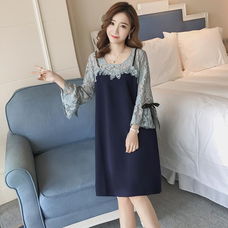 11a00e277d6 2019 6637  Sweet Hollow Out Lace Maternity Dress 2018 Spring Summer Fashion  Clothes For Pregnant Women Office Work Pregnancy Clothing From Cassial