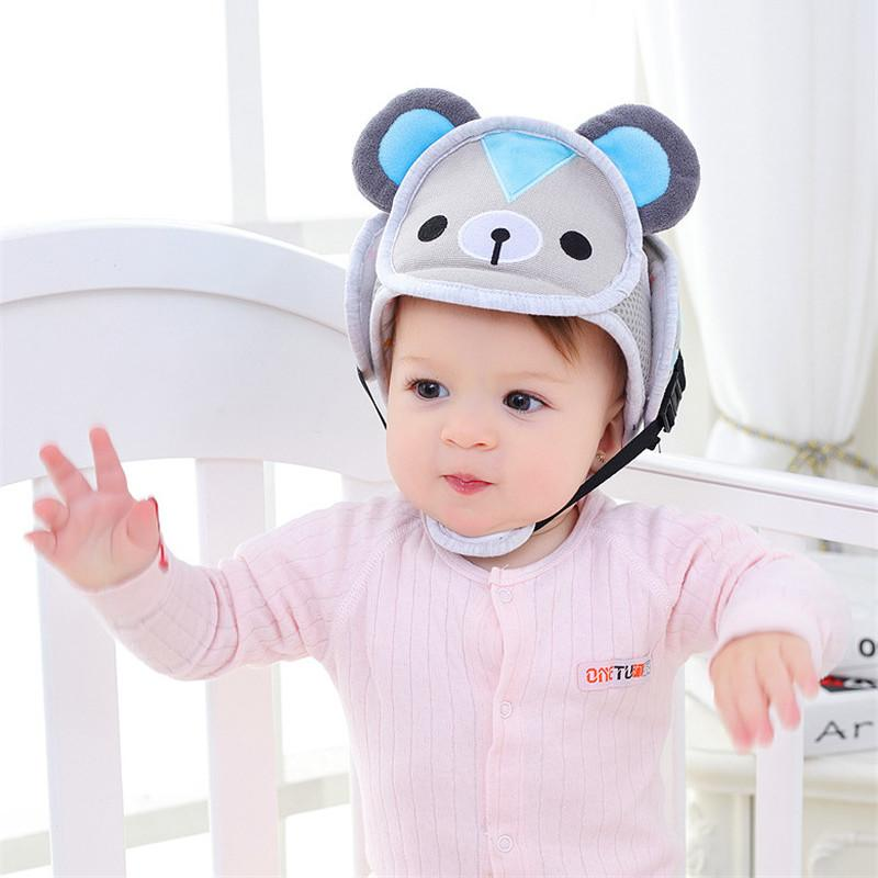 Baby Protective Head Helmet Infant Hat Toddler Security Protection Hats  Prevent Impact Walking Newborn Care Safety Cotton Cap UK 2019 From Sightly 7afac92922dc