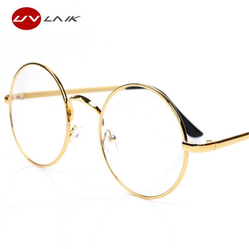 257e1e2e83 2019 UVLAIK Round Spectacle Glasses Frames For Harry Potter Glasses With  Clear Glass Women Men Myopia Optical Transparent Glasses From Liyun0402