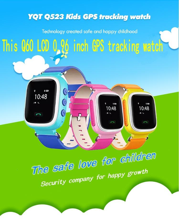 043c0dfc6d2 2018 GPS Tracker Watch For Kids Safe GPS Watch Q60 0.96 Inch LCD Smart  Wristwatch SOS Call Finder Locator Tracker Anti Lost Online Buy Watches Buy  Online ...