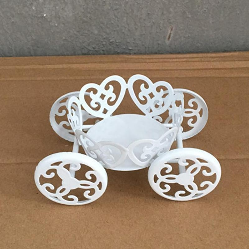Vintage Metal Wedding Cupcake Stand Cake Dessert Pastry Display Holder White Elegant Wedding Party Decorations CHW2785