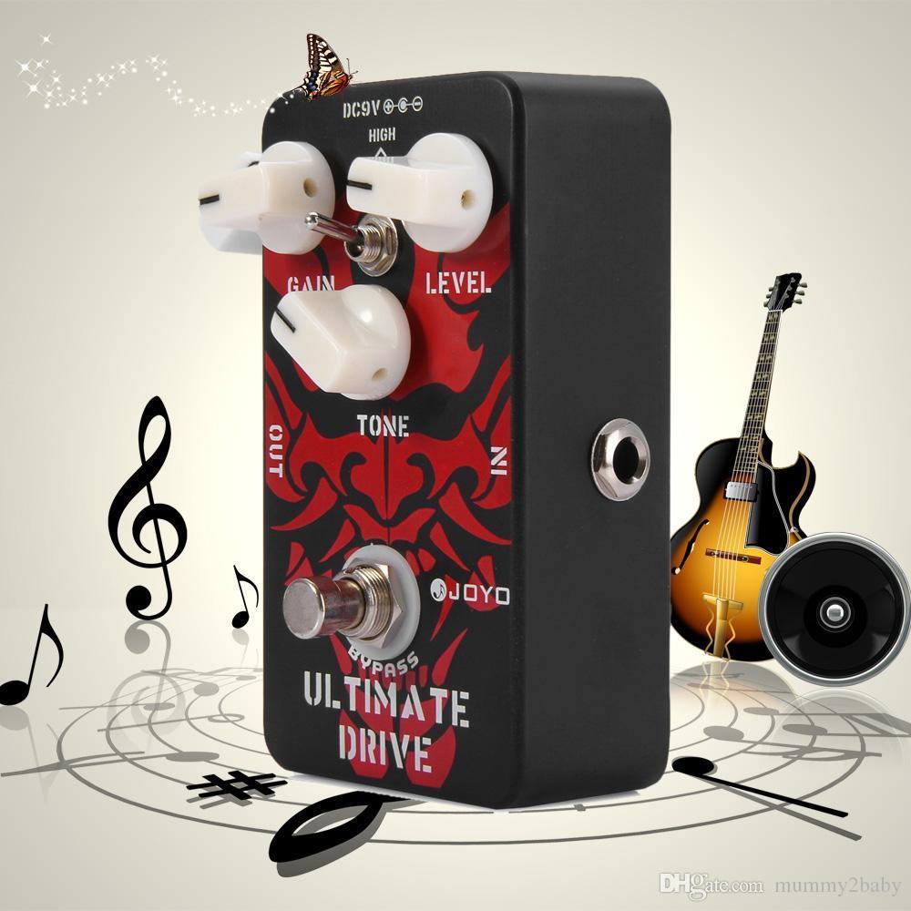 Joyo True Bypass Design Ultimate Drive Electric Guitar Effect Pedal