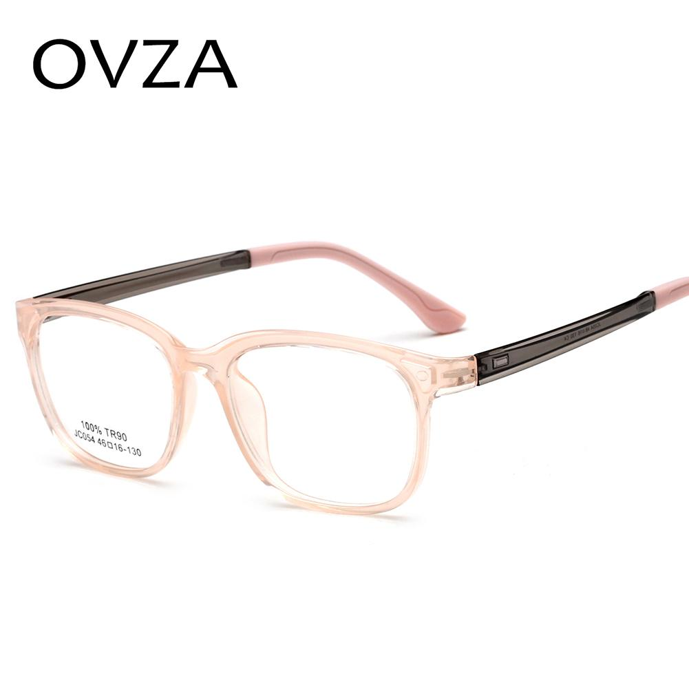 b3525cc8fb5c 2019 OVZA Ultralight Children s Glasses Frame TR90 Fashion Rectangle Kids Optical  Glasses Frames Children Eyeglass S7024 From Buafy