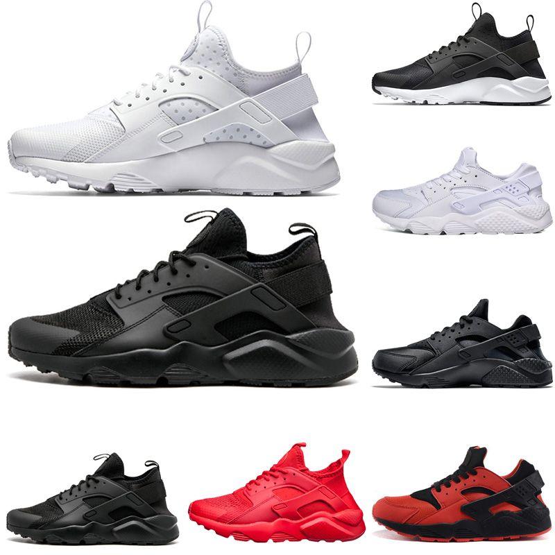 3345656c3e37f Compre Nike Air Huarache Shoes Venta Caliente Huarache 1.0 4.0 Zapatillas  Deportivas Zapatillas Blancas Triples Negras Rojas Para Hombres Y Mujeres  Zapatos ...