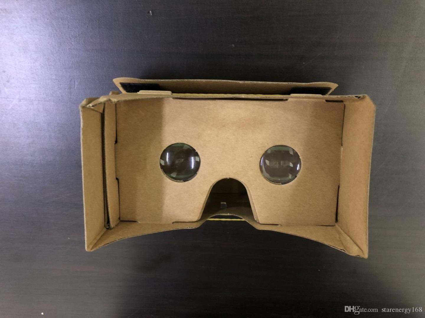 2019 Diy 3d Glasses Google Cardboard Vr Box Ii Virtual Reality For 3 5 6 0 Inch Smartphone New Iphone X 9 8 B Xy From Starenergy168 1 54