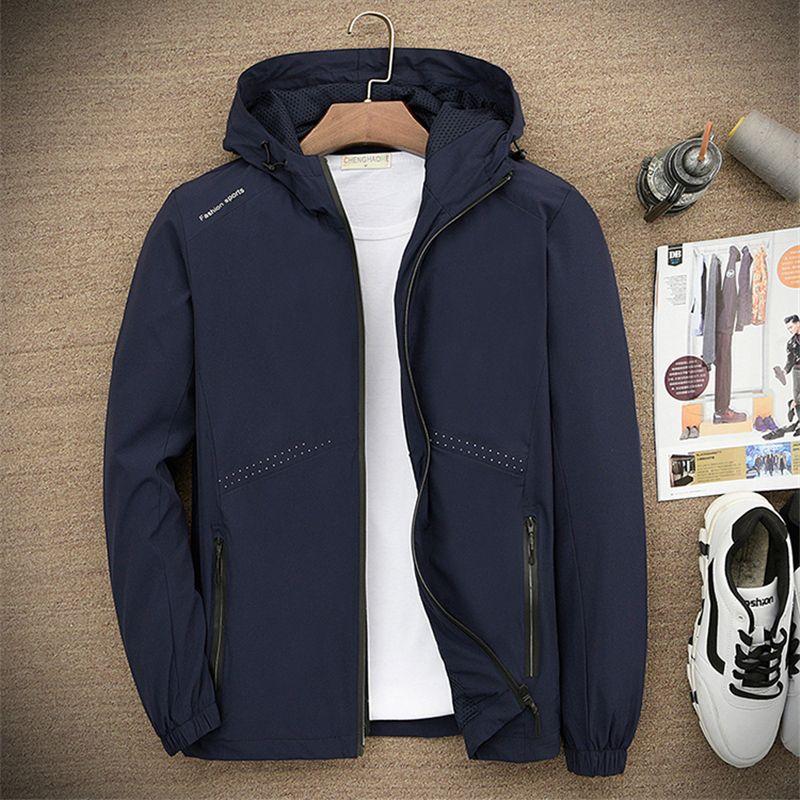 4a2f188903eab Brand Designer Luxury Mens Jackets Spring Zipper New Arrival Fashion Coats  Vintage Print Long Sleeve Big Size Plus Sportswear Fleece Leather Jacket  Fluffy ...