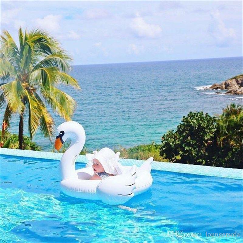 طفل نفخ السباحة الدائري بجعة فلامنغو تصميم الطفل بركة السباحة العائمة خواتم مقعد قارب ل شاطئ البحر لعب المياه اللعب جديد وصول 22xr z