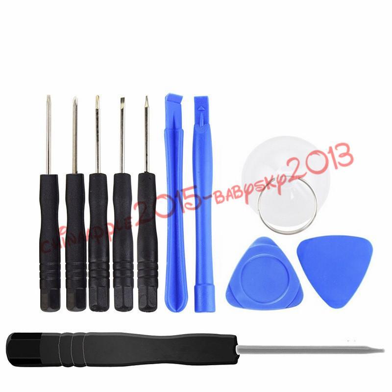 Reparing 10 Werkzeuge in 1 Reparatur-Hebel-Öffnungs-Werkzeug mit 5 Punkt-Stern Pentalobe Torx Schraubenzieher für iphone 4 4G 5 für Samsung, DHL geben
