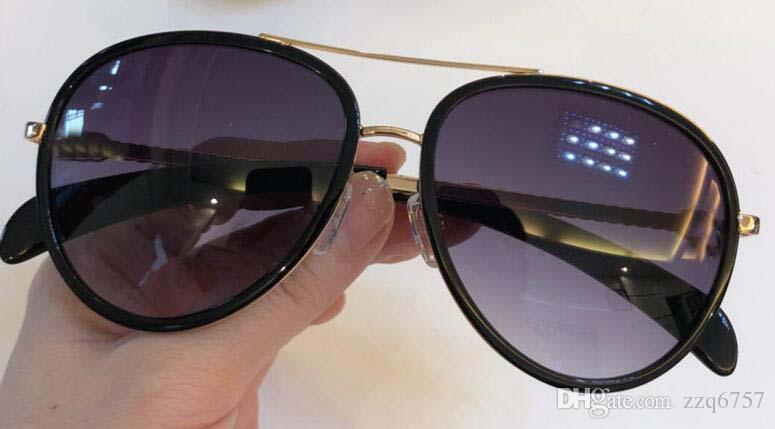 d02f57cad6 2018 New Fashion Designer Sunglasses 5146 Pilot Metal Frame Vintage ...