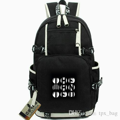 The wanted rucksack Jay and Siva daypack rock band schoolbag Music knapsack  Computer backpack Sport school bag Out door day pack