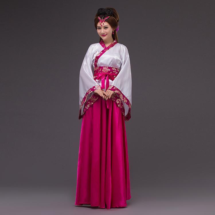 Compre Trajes Tradicionais Chineses Para As Mulheres Se Vestem Roupas  Antigas Folk Barato Fadas Tang Terno China Tradições Traje Vestido Hanfu De  Hiem 7569b8c84eb