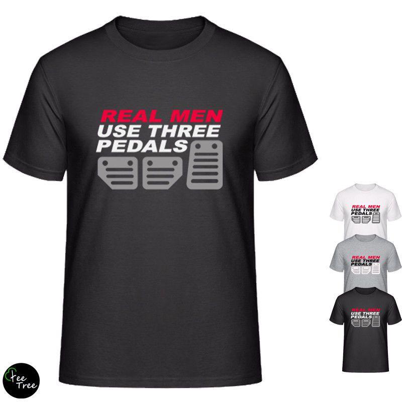 Shirts Fashion Real Man USE Three PADELS Manual Gear Drivers White ...