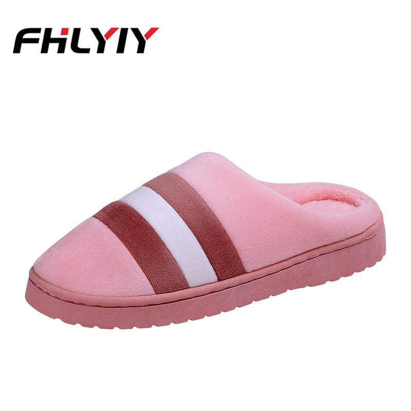 68edc7cada2 Women Indoor House Slippers Autumn Winter Short Plush Flat Slippers Soft  Casual Women Shoes Zapatos De Mujer Fashion Shoes Women Online with   34.98 Piece on ...
