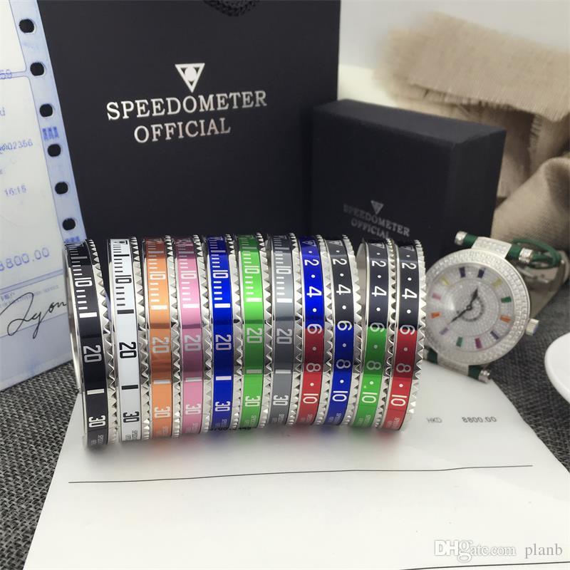 Braccialetti del partito di modo dei monili degli uomini dell'acciaio inossidabile di alta qualità degli orologi di modo di lusso del braccialetto gli uomini delle donne con la scatola al minuto
