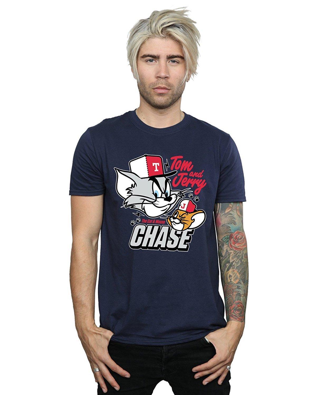 1c76b22e2 Compre Camiseta Tom And Jerry Para Hombre Con Diseño De Ratón Mouse Chase A   11.01 Del Spreadshirtinc