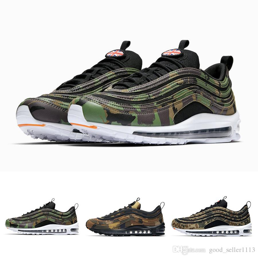 Green Da Camo Scarpe Francia 97 97s Germania New 2019 Corsa Acquista qwa4fa