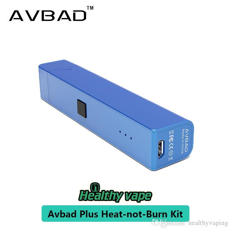 2018 nouveauté Treading Trend E Kit Cigarette électronique Avbad BOS-II Heat-not-Burn à chauffage électronique