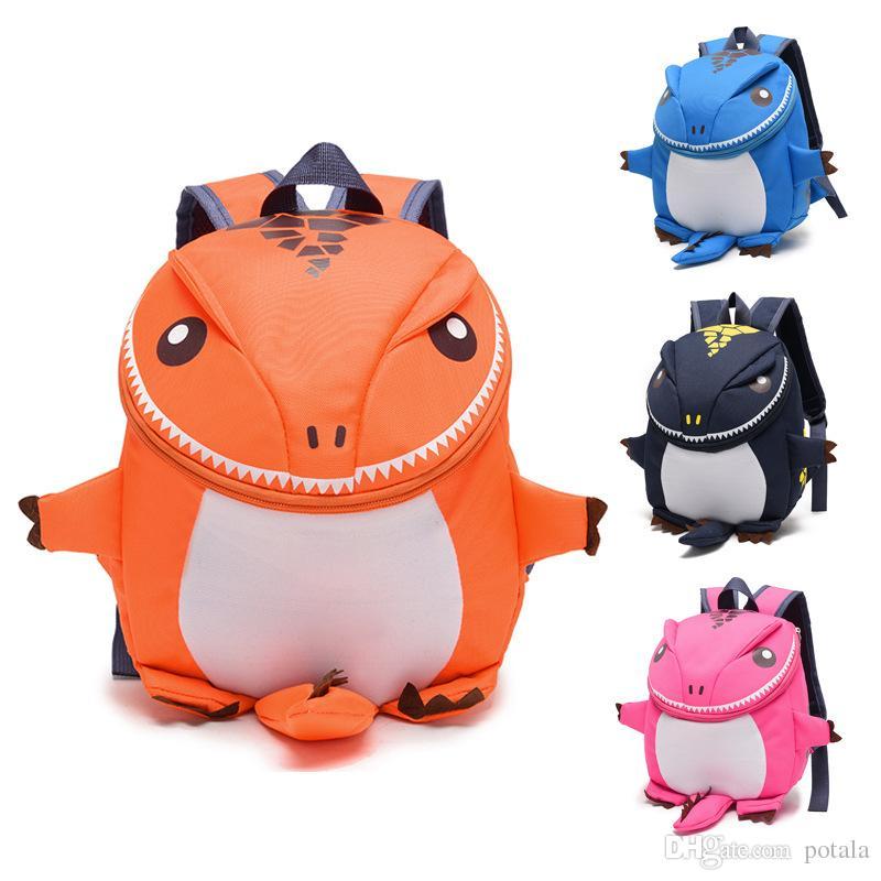 3D Dinosaur Kids Backpacks Kindergarten School Backpack Anime Gift Fila  Mochila Anime Baby Bag Free Movies Toddler Borsetta Plush Bookbags Leather  Backpack ... 0b842edf0c1f3