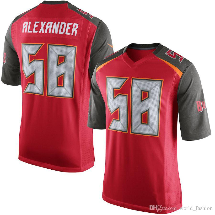 3e72198f90d 2018 Mens Tampa Bay Buccaneers Mike Evans Kwon Alexander Gerald Mccoy Red  Game Jersey From World_fashion, $31.68 | Dhgate.Com