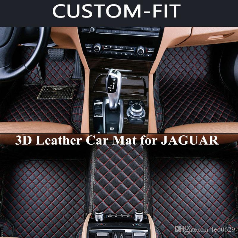 Custom Car Floor Mats for JAGUAR XF XF Sportbrake F-PACE XJ XJL F-TAPE XE  XK XFL All Model Carpet Tapetes Para Automovil Alfombra Coche