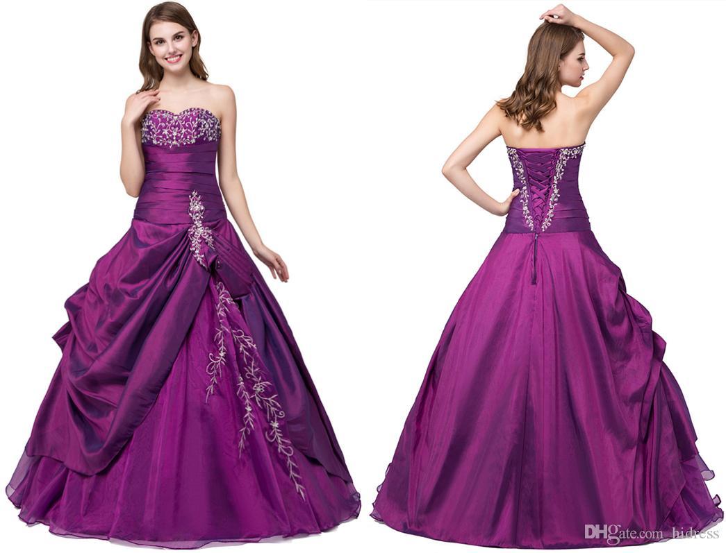 Abendkleid in lila
