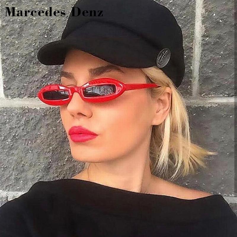 ab5fb57000 2018 Oval Sunglasses Women Brand Designer Small Frame Sun Glasses Female  Rectangle White Black Eyewear UV400 Custom Sunglasses Heart Shaped  Sunglasses From ...