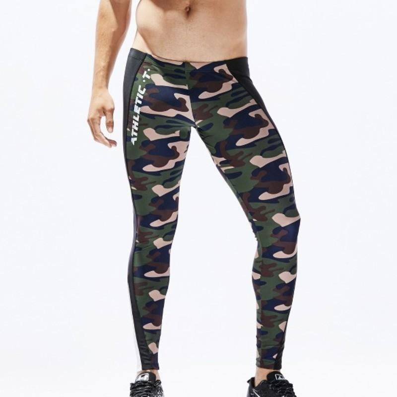 c87b4e747bc88 Camo Running Tights Men Compression Pants Mens Leggings Sport Workout Yoga  Training Leggins Sportswear Tight Trousers For Man Canada 2019 From  Yiquanwater, ...