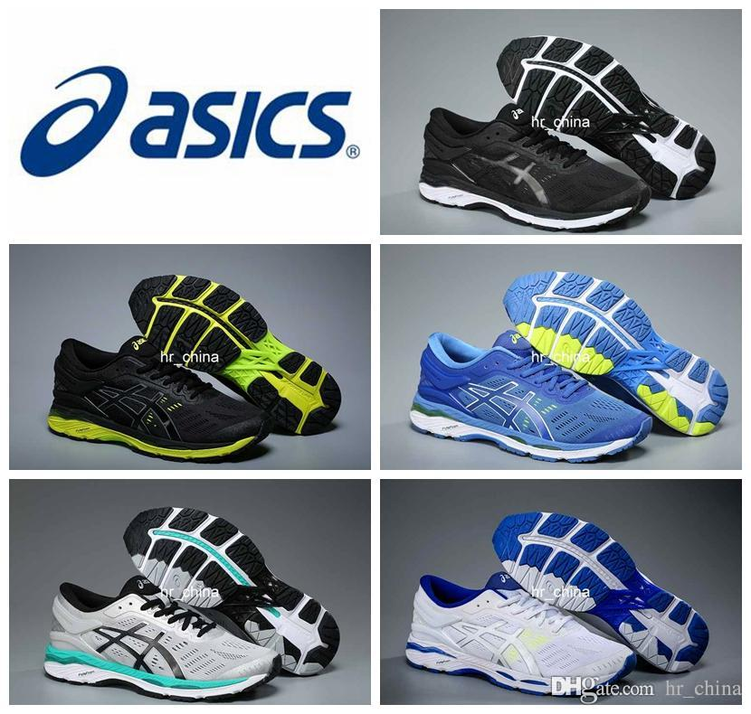 2018 Wholesale Price Asics Gel Kayano 24 Running Shoes For Men New Style Sneakers  Athletic Boots Sport Shoes Eur Size 36 44 Black Running Shoes Running ... aadf131cb8dd